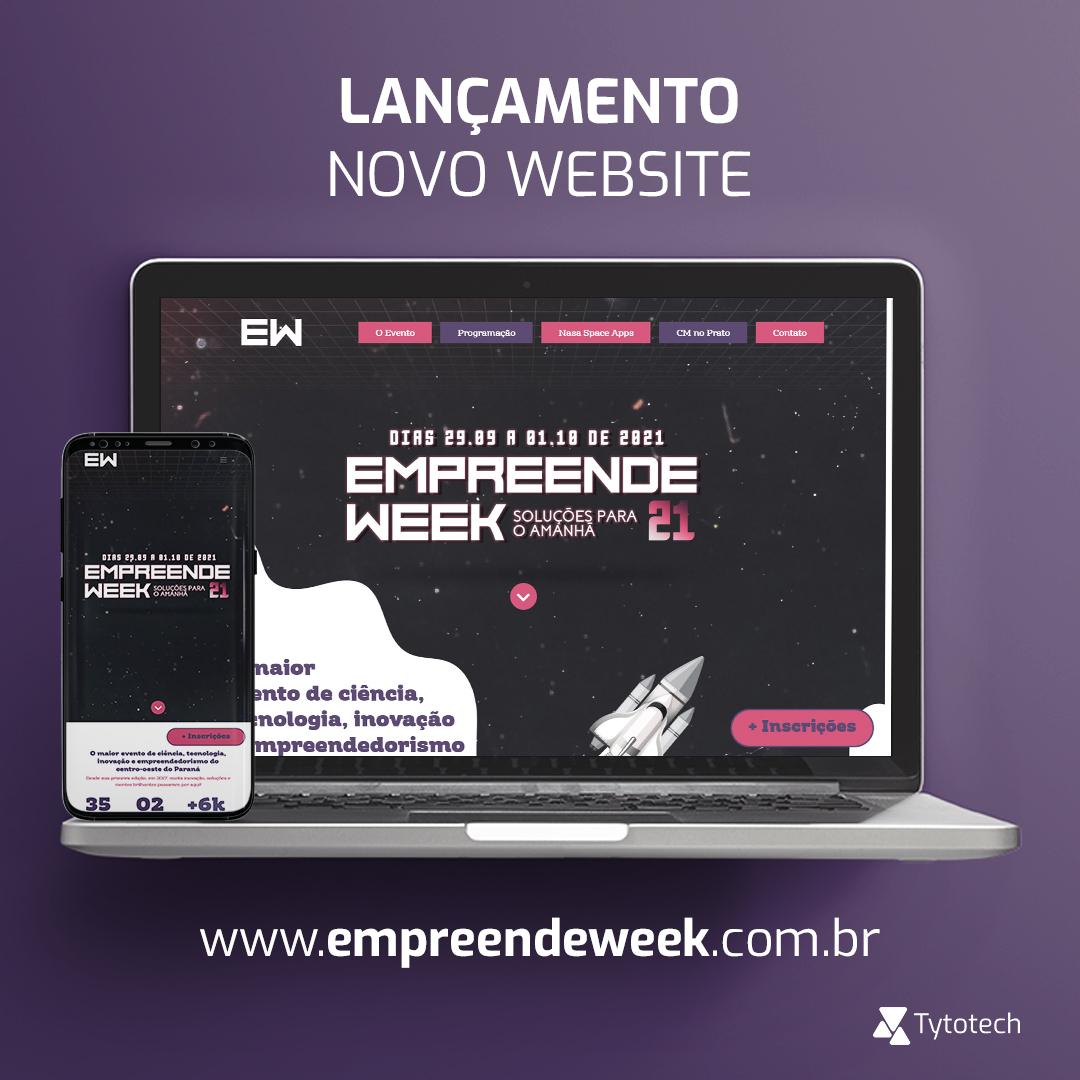 Lançamento novo website Enpreeende Week 2021
